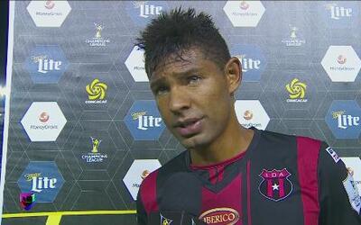 Armando Alonso: 'Para nosotros es muy buen resultado'