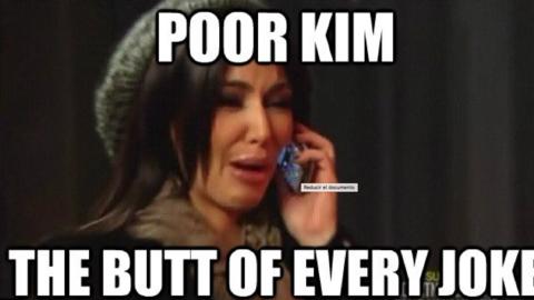 El 2016 de Kim Kardashian en memes