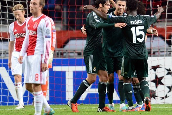 El Ajax había aguantado casi toda la primera mitad, pero no bastó.