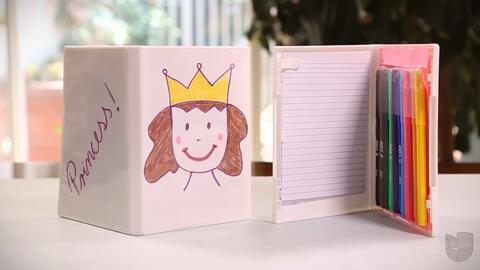 DIY: Estuche de papel y colores