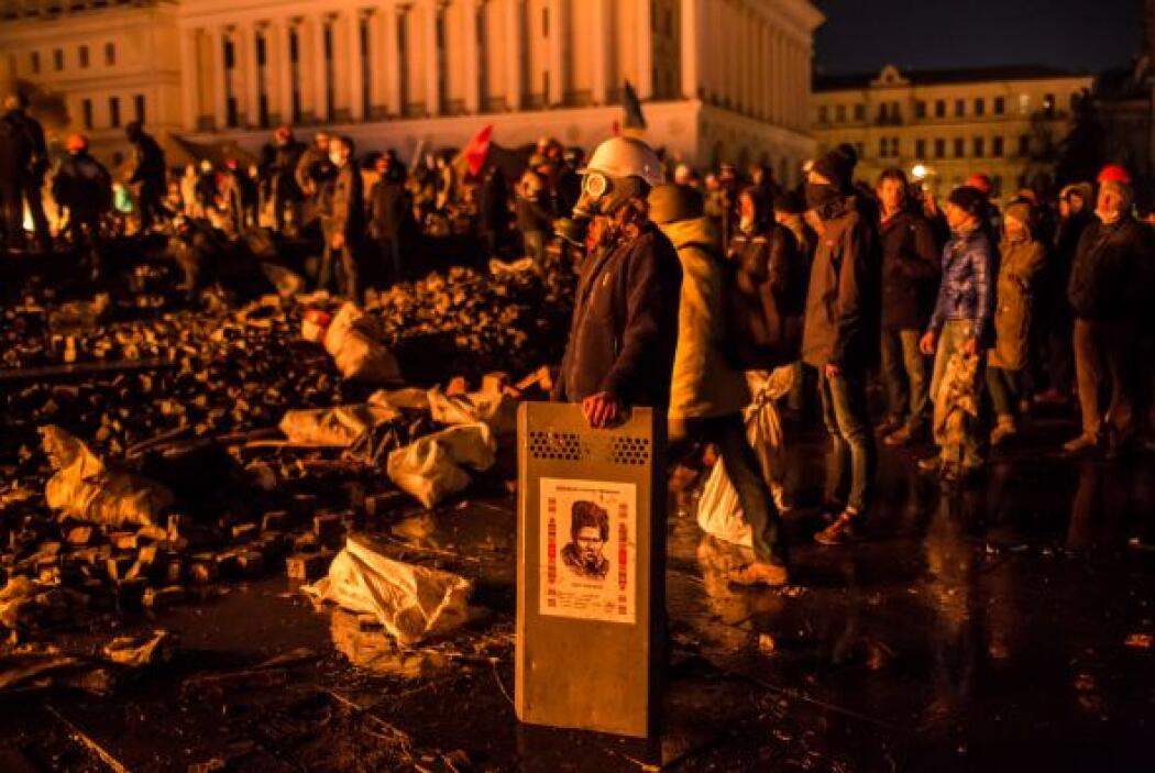 Las manifestaciones aunque permanentes (desde hace tres meses) habían es...
