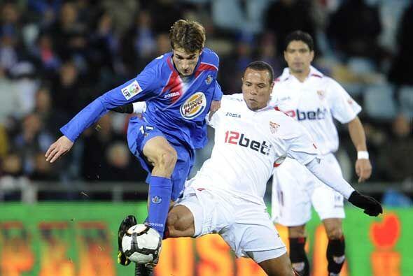 El Getafe tuvo varias oportunidades de marcar el segundo, pero la suerte...