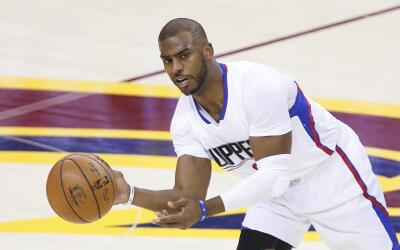 Chris Paul se lesiona nuevamente.