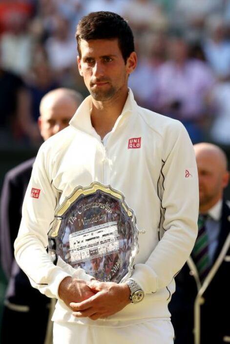'Nole' elogió el juego de Murray al finalizar el partido.
