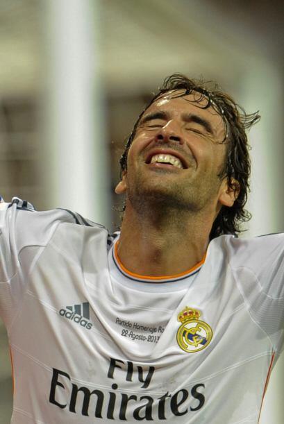 Raúl González se mostró emocionado y agradecido por...