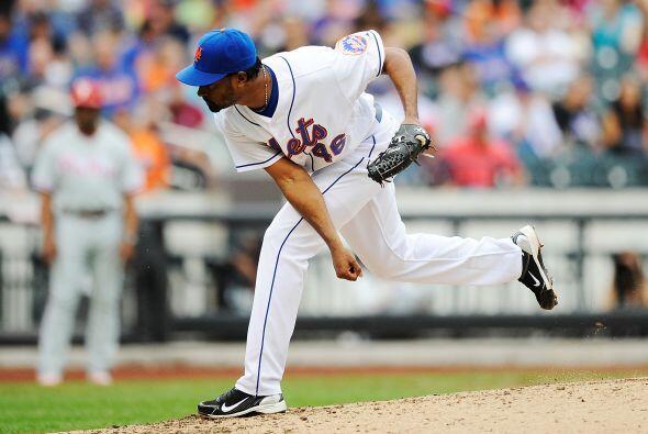RP. Manny Acosta. Mets de Nueva York. El cerrador de los metropolitanos...