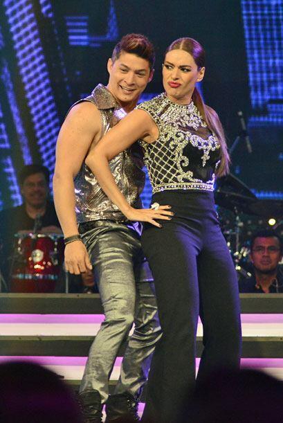 Tras caerse en la semana dos, Gali volvió a bailar con Danny Mont...