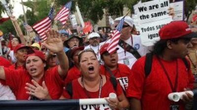 La SB1070 de Arizona puso en la mirilla a millones de inmigrantes indocu...