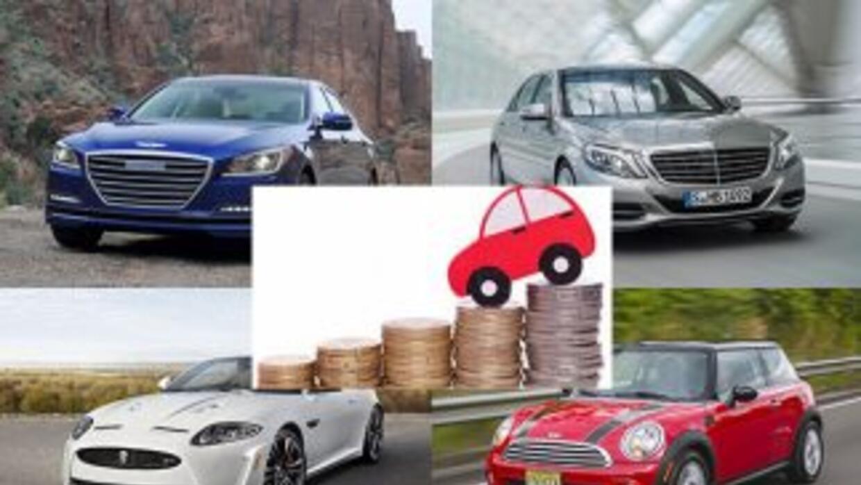 Los vehículos que más rápido se deprecian