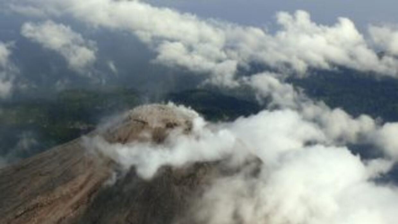 El volcán de Colima ha presentado cierta actividad.