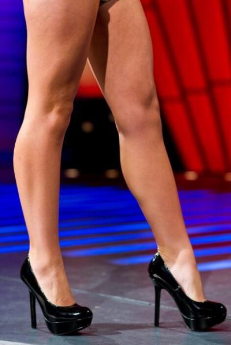 Como bien lo muestra la imagen, Lauren cuida su figura con ejercicio y a...