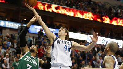 Dallas venció 118-113 a Boston