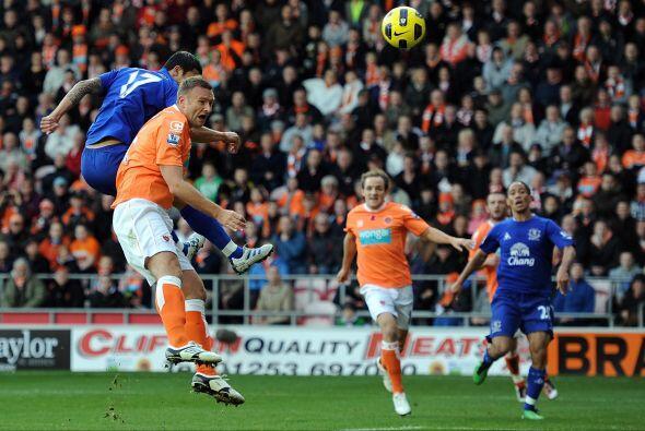 Blackpool y Everton empataron 2 a 2.