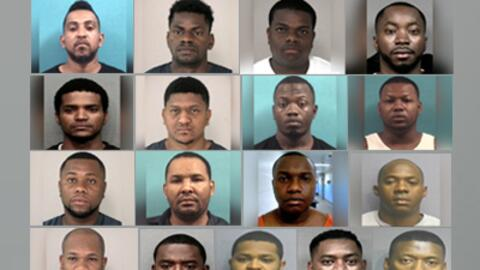 Banda Ladrones Colombianos en Houston