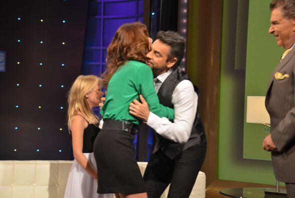 Alessandra Rosaldo apareció como sorpresa para Eugenio y tambi&ea...
