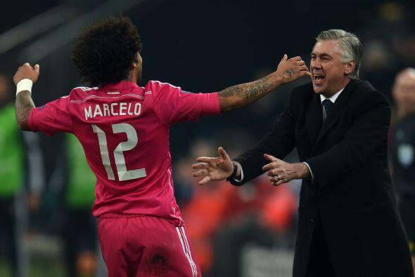Instantes después, Marcelo anotó tremendo golazo que se cl...