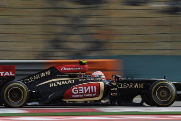 Lotus continuó en gran forma en China.