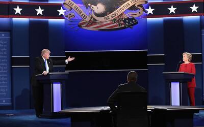 Los cuatro momentos claves del primer debate presidencial