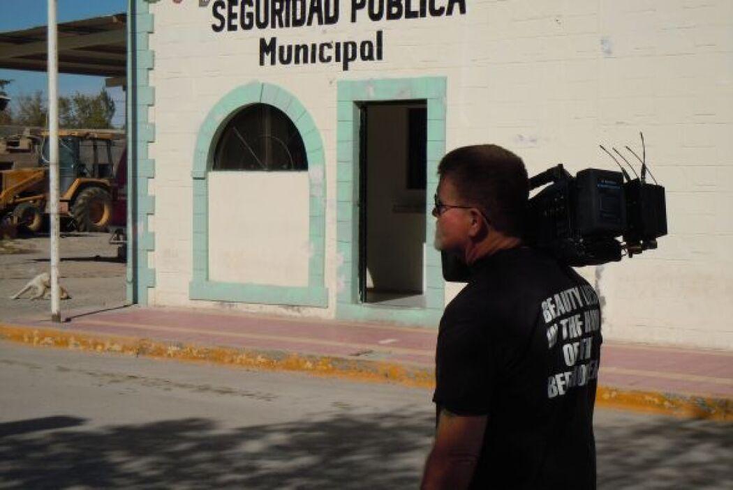 La pequeña comisaría de Pradexis G. Guerrero estuvo en el ojo de los med...