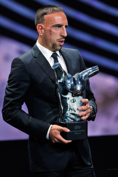 Cristiano tomó el relevo en el palmarés al francés...