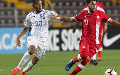 Honduras abrió el Premundial de Costa Rica con sufrida victoria ante Canadá
