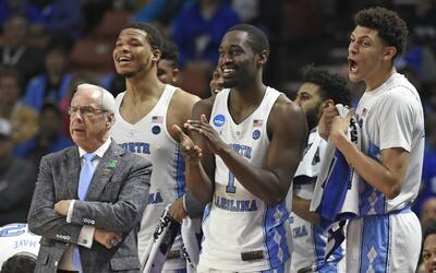 North Carolina parte como favorito para llevarse el titulo de la NCAA.
