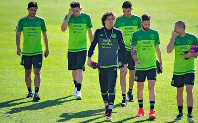 La selección mexicana ya está concentrada en Ciudad de México tras dejar...