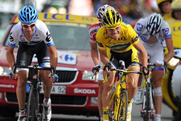 Thomas Voeckler estaba seguro que podría retener el maillot amarillo, pe...
