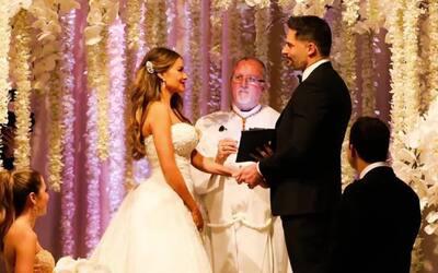 Los detalles más románticos de la boda de Sofía Vergara y Joe Manganiello