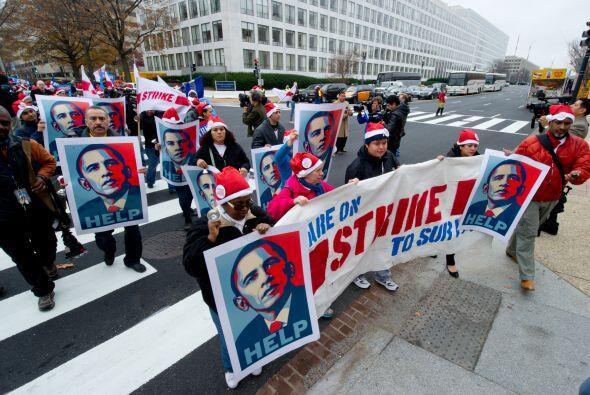 La principal petición fue al presidente Barack Obama.