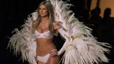 Heidi Klum en Victoria's Secret