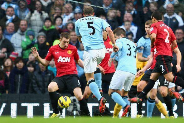 Incluso, Pablo apareció para marcar el gol que le deba el empate...