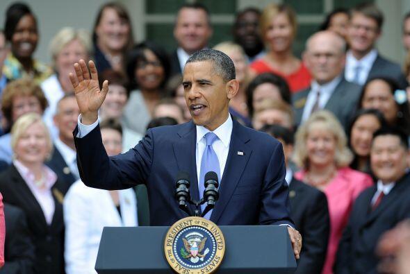 El presidente Obama recibió elogios bipartidistas e internacionales. Sin...