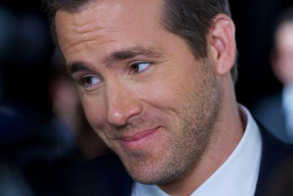 10. Ryan Reynolds. Esta estrella logró colarse en el top ten, de...