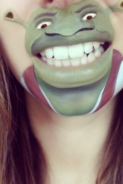 El famoso ogro Shrek...