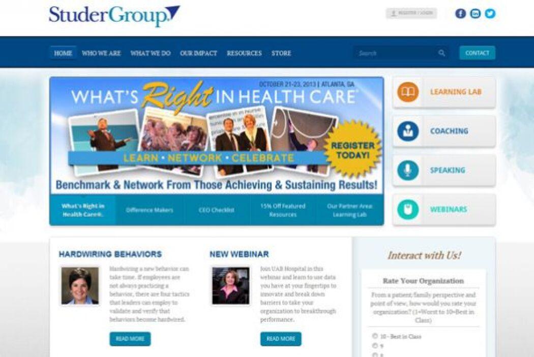 7. Studer Group  Industria: 179 empleados.  Número de empleados: Servici...