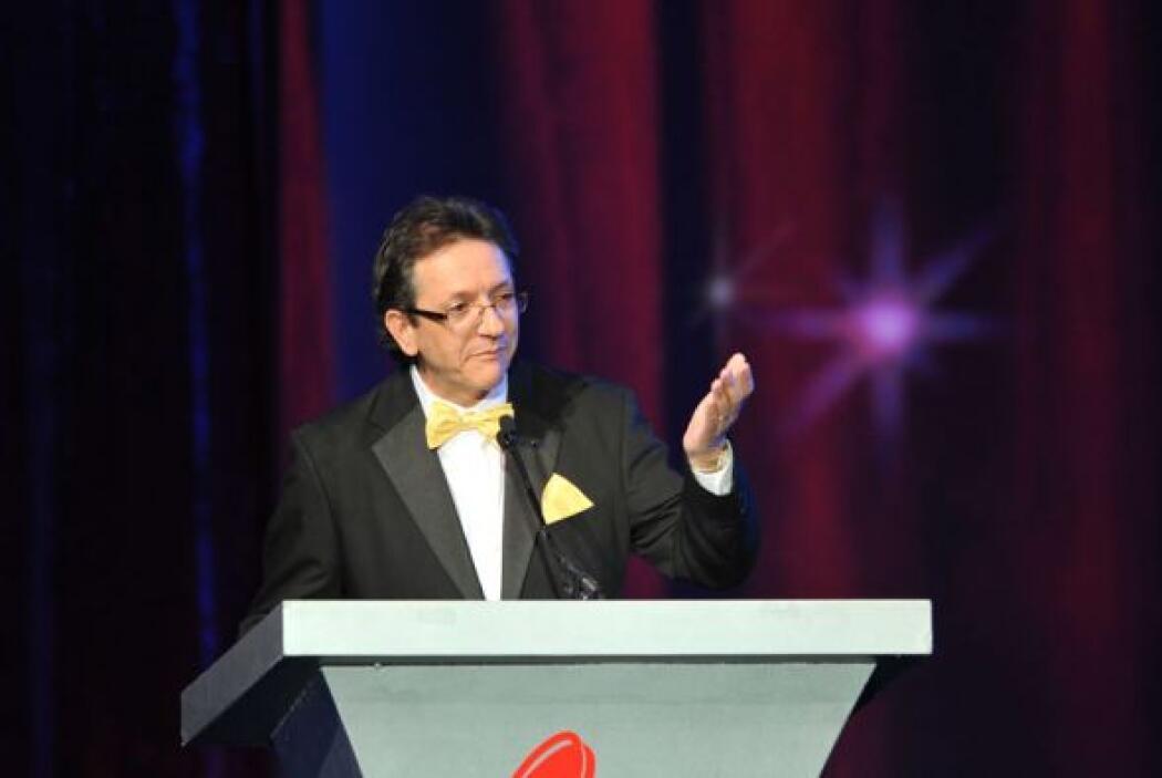 Gabriel Abaroa, presidente de La Academia Latina de la Grabación, presen...