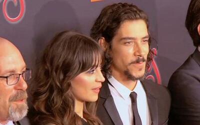 El controversial hijo de Cantinflas asistió a la premiere de la película