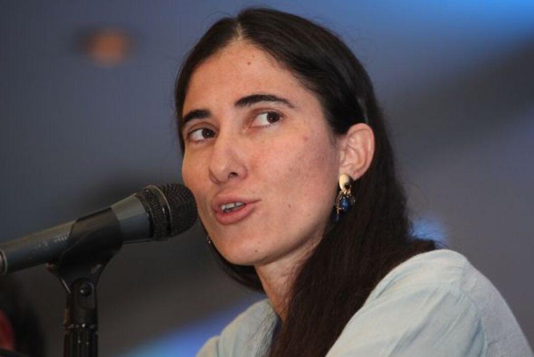 La disidente cubana Yoani Sánchez pidió el jueves a la Organización de l...