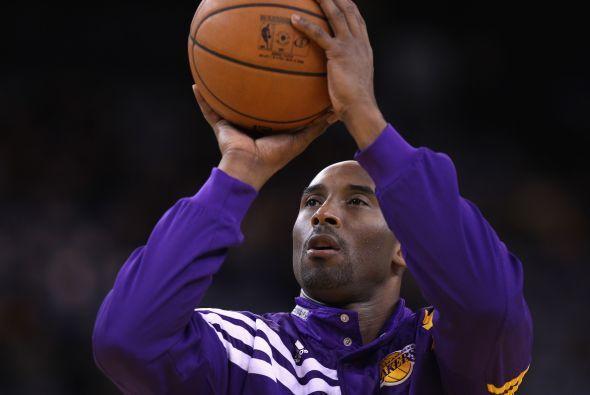 Lugar 6: La estrella de Los Angeles Lakers, Kobe Bryant, con 52.3 millon...