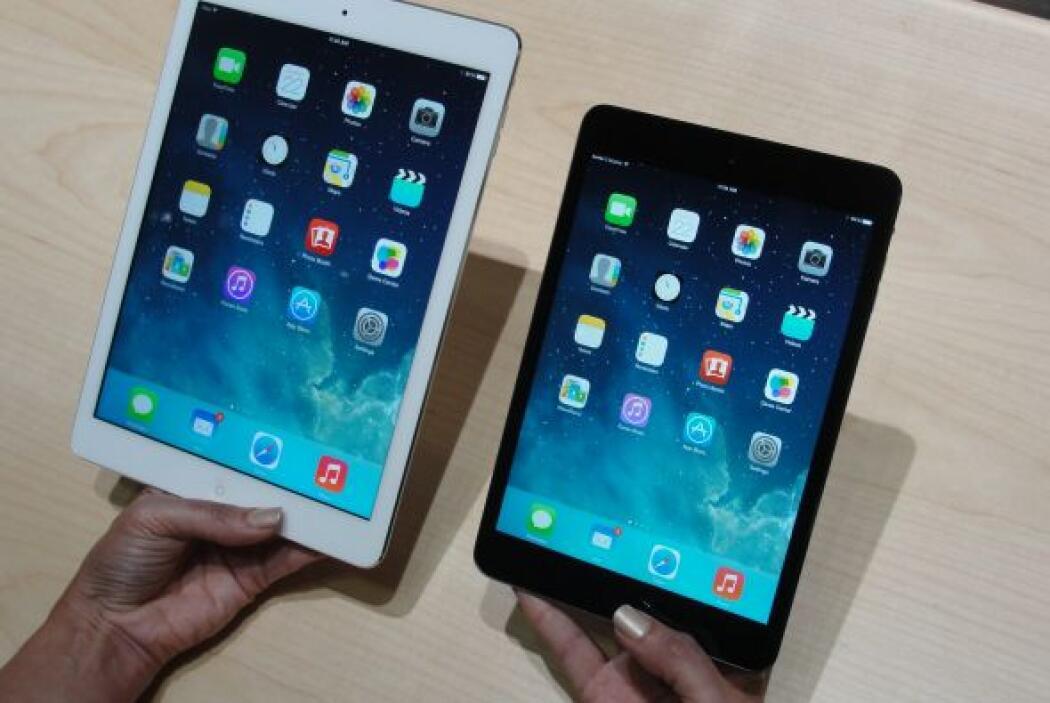 iPad Air: su delicado diseño de 7.5 mm de grosor y con un peso menor a m...