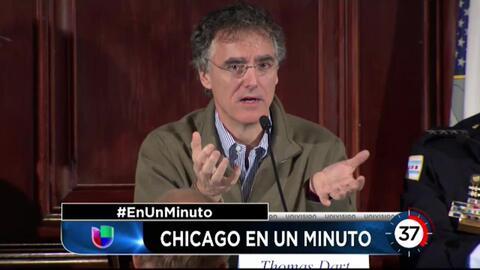 'Chicago en un minuto': Sheriff del condado no 'tiene interés' en colabo...