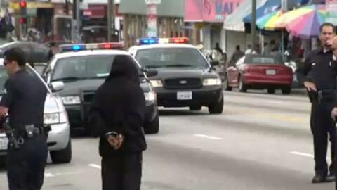 'Los Ángeles en un Minuto': buscan aumentar el patrullaje en la ciudad