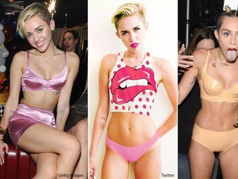 Miley Cyrus ha hecho que se incrementen las ventas de la lencería...