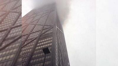 Se incendia el piso 50 del edificio John Hancock