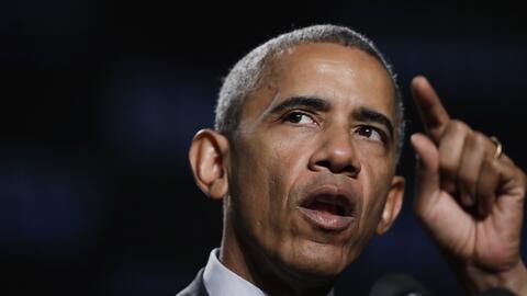 Obama le responde a Trump en la convención de veteranos