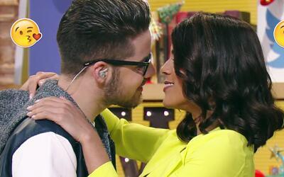 Ahora que debuta como actriz, Francisca y William se dieron tremendo bes...