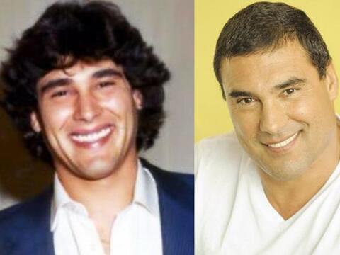 Eduardo Yáñez ha cambiado mucho pero, ¡cada vez está más guapo! ¿no crees?