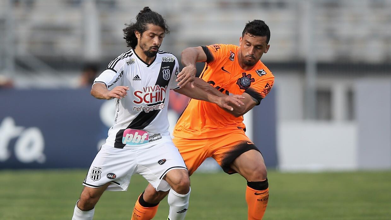 Corinthians empató con el Ponte Preta