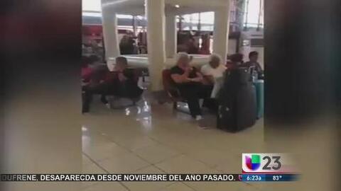Apagan el aire acondicionado en el aeropuerto de La Habana